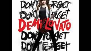Demi Lovato / Don`t Forget FULL HQ w/LYRICS