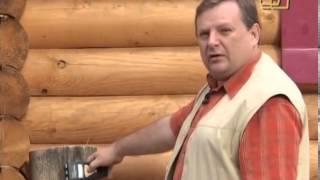 Как построить деревянный дом из оцилиндрованного бревна.(, 2013-10-02T19:29:01.000Z)