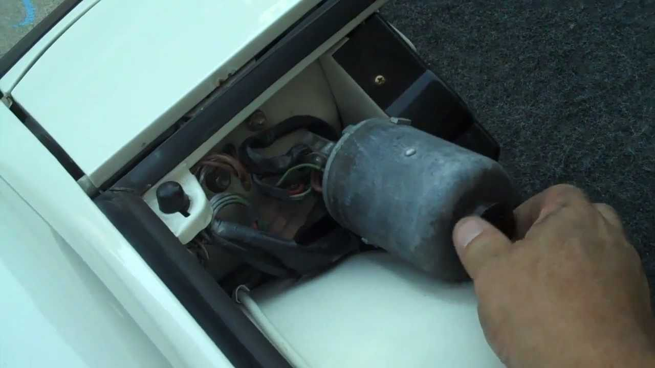 hight resolution of porsche 914 headlight opertion