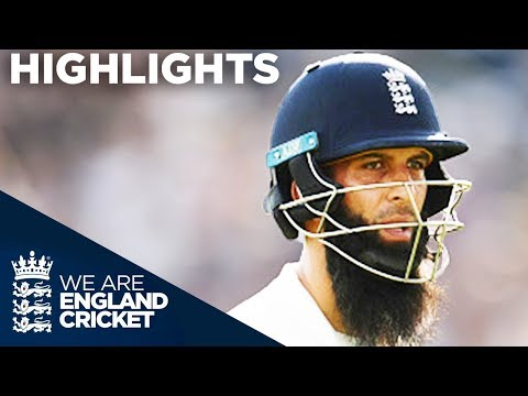 Magnificent Moeen Helps England Take Hold Of Test - England v West Indies 2nd Test Day 4 2017