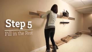 Installing Plank|wood Genuine Reclaimed Wood Planks