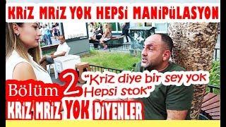 Türkiye'de Ekonomik Kriz Var Mı? Bölüm 2: Kriz Yok Diyenler