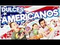 🇺🇸 Probando DULCES AMERICANOS en FAMILIA! 🤪 | Familia Carameluchi