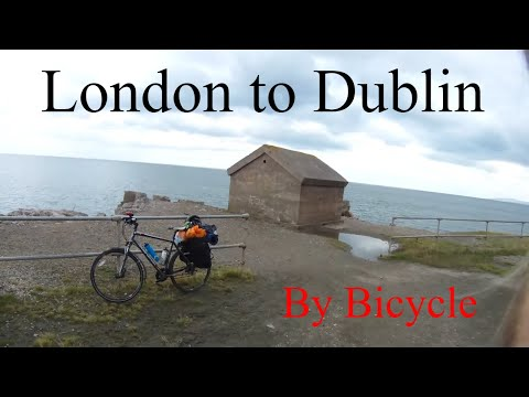 London to Dublin - By Bicycle -  National Cycle Network Rout