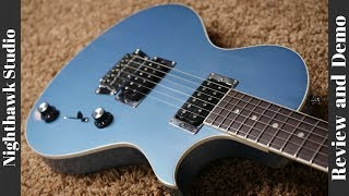2011 Gibson Nighthawk Studio Pelham Blue Review