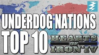 Top 10 Underdog Nations In Hearts of Iron 4 HOI4
