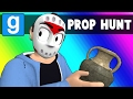 Gmod Prop Hunt Funny Moments - Oceans Elevens? (Garry's Mod)