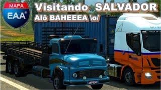 🚛ETS2 - Explorando Salvador - Bahia  [Mapa EAA 4.2]