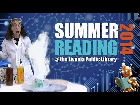 Livonia Public Library 2014 Summer Reading Promo