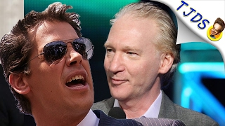 Journalist CANCELS Bill Maher's Show Over Milo Yiannopoulos Booking