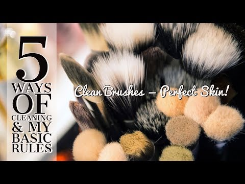 How To Clean Your Makeup Brushes To Avoid: Infections, Pimples & Acne