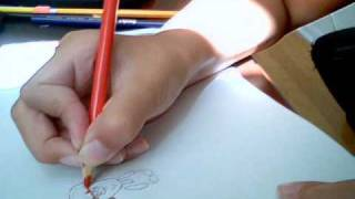 how to draw a chobot