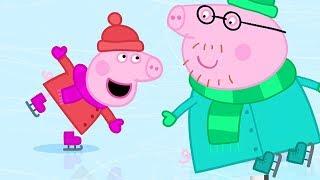 小猪佩奇 | 精选合集 | 1小时 | 滑冰⛸️ | 粉红猪小妹|Peppa Pig Chinese |动画