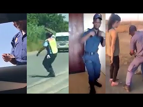 SA cops caught on camera 2017: The good, the bad and the slick dance moves