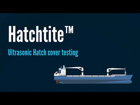 Hatchtite - Ultrasonic Hatch Cover Testing