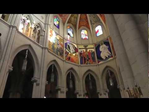 Almudena Cathedral, Madrid Spain