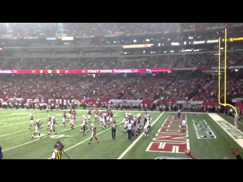 Atlanta Falcons winning drive with Michael Turner 1 yard Touchdown