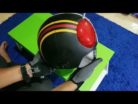 Kamen Rider Black Helmet by @malik_juned