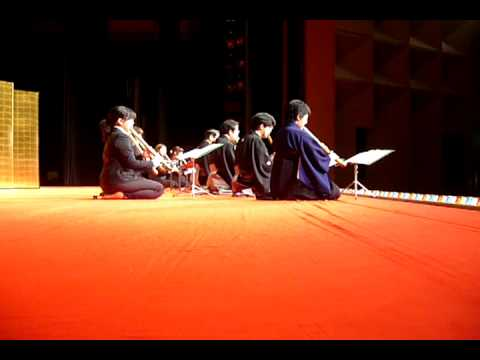 冬の曲(尺八二部合奏) - Japanese Classical Music Ensemble with Bamboo Flute ,Shakuhachi