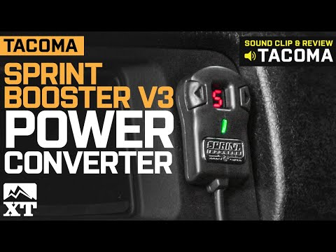 Tacoma Sprint Booster V3 Power Converter (2005-2019) Review & Install