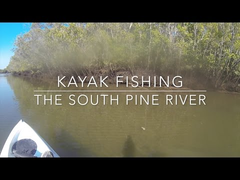 South Pine River Kayak Fishing on Dragon Kayaks