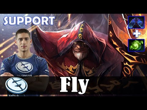 Fly - Warlock Safelane | SUPPORT | Dota 2 Pro MMR Gameplay