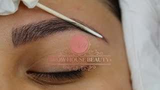 Microblading Process step by step