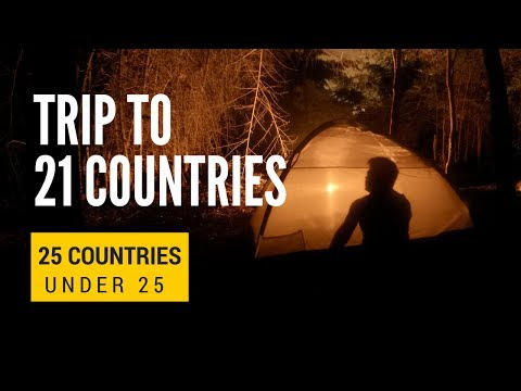 Trip to 21 countries | My Travel Diary | GoPro