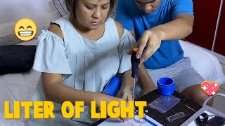 Liter of Light | CANDY & QUENTIN | OUR SPECIAL LOVE