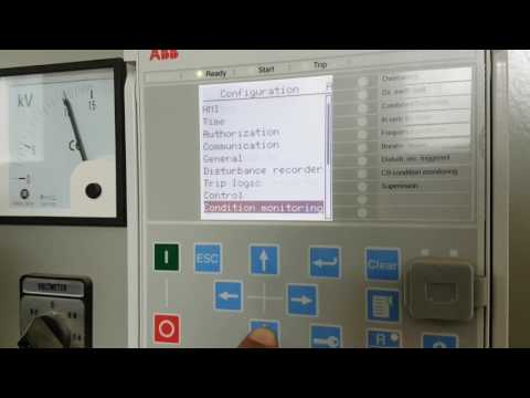 ABB REF615 relay configuration(CT ratio)