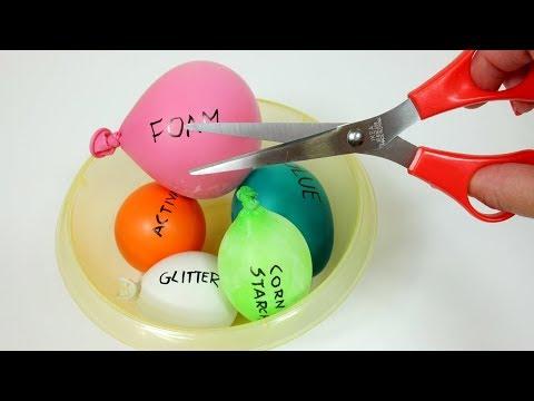 ROBIĘ GLUTA Z BALONÓW! DIY Glut z balonów tutorial | Rozcinam balony | ASMR