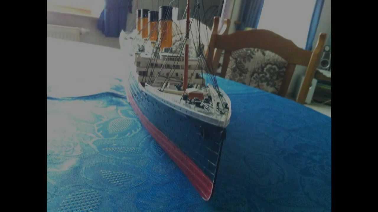 titanic timelapse model youtube. Black Bedroom Furniture Sets. Home Design Ideas