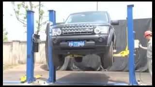 Автомобильный подъемник AE&T T4(Культовый автомобильный двухстоечный подъемник T4 в работе. Мы продаем качественное оборудование для автос..., 2014-05-10T18:56:16.000Z)
