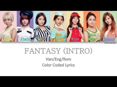 AOA - FANTASY (INTRO) [Color Coded Han|Rom|Eng|Esp]