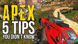 Apex Legends: 5 Tips You Didn't Know