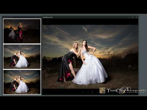 How to take Epic Sunset Portraits with a studio/speed light