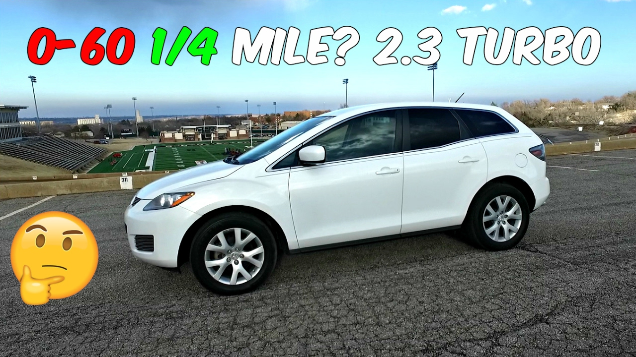 Mazda mazda 3 0-60 : THE TEST: Mazda CX 7 2.3 Turbo 0-60 1/4 MILE 0-100km/h - YouTube