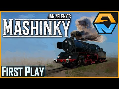 MASHINKY Let's Play | First Play | STARTING OUR TRANSPORT EM