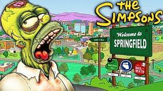 LA VILLE DE SPRINGFIELD sur BLACK OPS 3 !! - Les Simpson Zombie