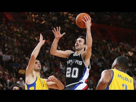 San Antonio Spurs vs Maccabi Tel Aviv 2006 NBA Europe Live Tour Exhibition Match FULL GAME