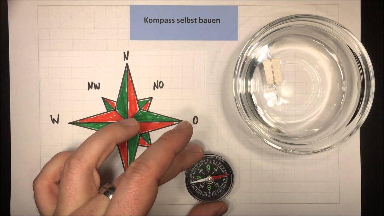 kompass selbst bauen sachunterricht physik lehrerschmidt youtube. Black Bedroom Furniture Sets. Home Design Ideas