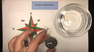 Kompass selbst bauen | Sachunterricht - Physik | Lehrerschmidt