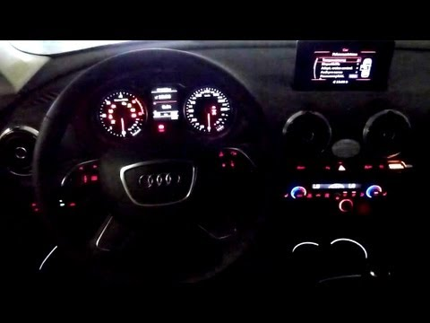 2012 Audi A3 2 0 Tdi Ambition Ambiente Beleuchtung 7 11