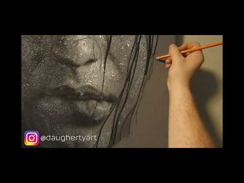 "Hyperrealistic Portrait Drawing | ""A Season of Introspection"" 