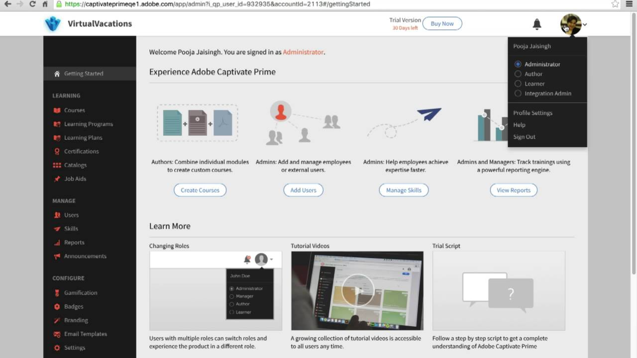 Adobe captivate prime simplified user management youtube adobe captivate prime simplified user management 1betcityfo Gallery