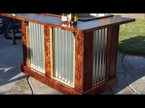 rustic-furniture-pallet-bar-diy