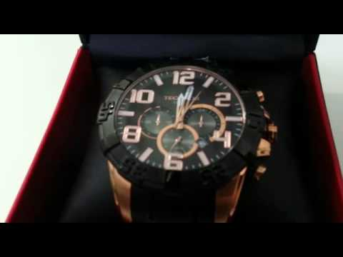 90520a78c22de Relógio Technos Legacy Masculino marrom e preto - YouTube
