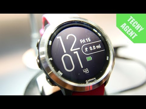 Garmin Forerunner 645 Music - Hands on at CES 2018