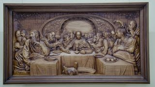 3D панно и картины из дерева - 3D mural paintings and carved wood