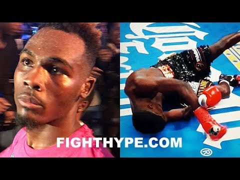 """JERMELL CHARLO SECONDS AFTER CRUSHING 1ST ROUND KNOCKOUT OF ERICKSON LUBIN: """"Y'ALL SEE WHAT I DO"""""""